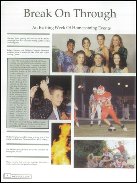1996 Cookeville High School Yearbook Page 8