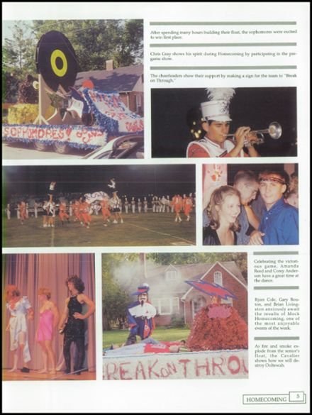 1996 Cookeville High School Yearbook Page 9