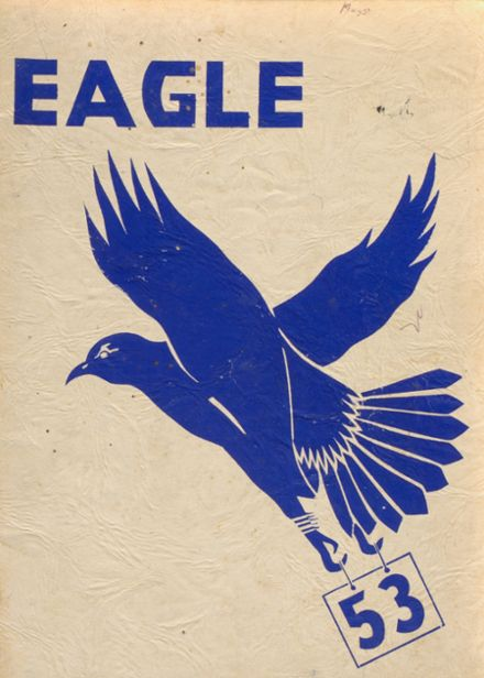 1953 Emmons High School Yearbook Cover