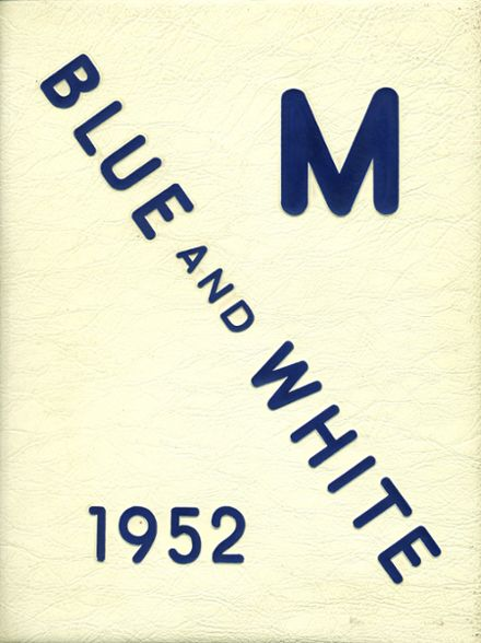 1952 Madera High School Yearbook Cover
