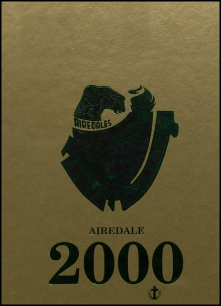 2000 Alma High School Yearbook Cover