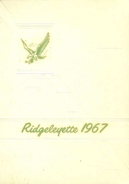 1967 Ridgeley High School Yearbook Cover