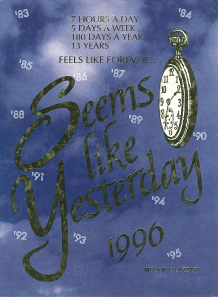 1996 Ringgold High School Yearbook Cover