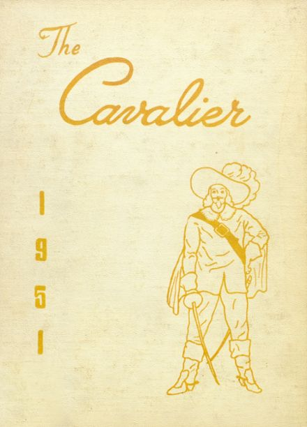 1951 Coldwater High School Yearbook Cover