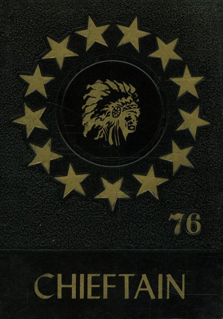 1976 Haskell High School Yearbook Cover