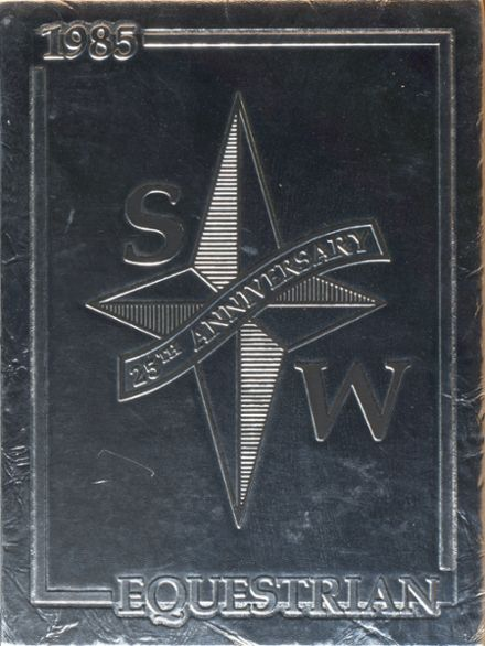 1985 South Western High School Yearbook Cover