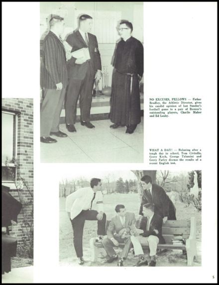 1961 Monsignor Bonner High School Yearbook Page 9