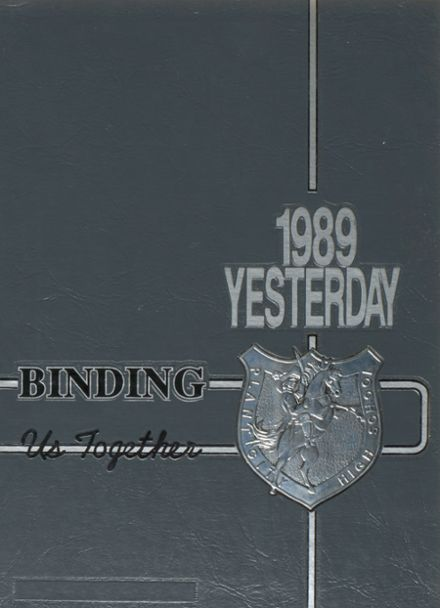 1989 Plant City High School Yearbook Cover