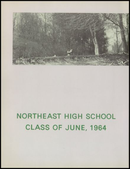1964 Northeast High School Yearbook Page 6