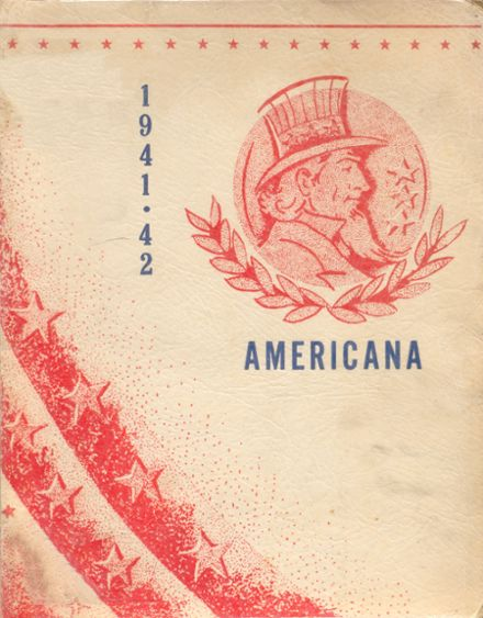 1942 Lebanon High School Yearbook Cover