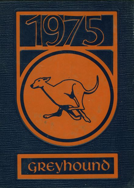 1975 Slidell High School Yearbook Cover
