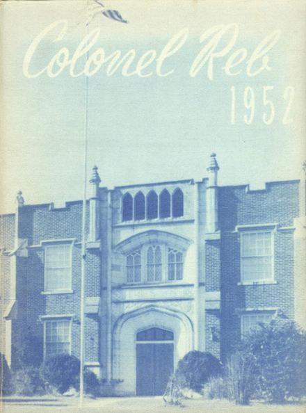 1952 Natchez High School Yearbook Page 1