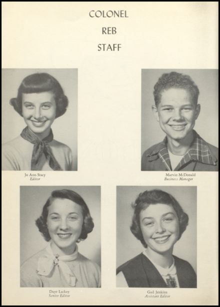 1952 Natchez High School Yearbook Page 8