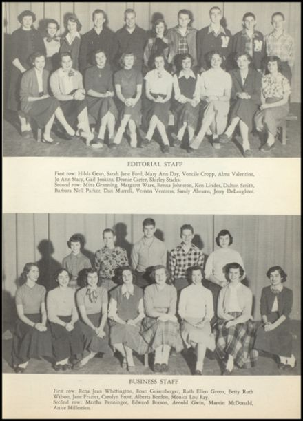 1952 Natchez High School Yearbook Page 9