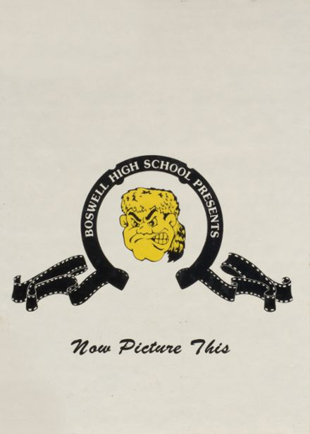 1989 W.E. Boswell High School Yearbook Cover
