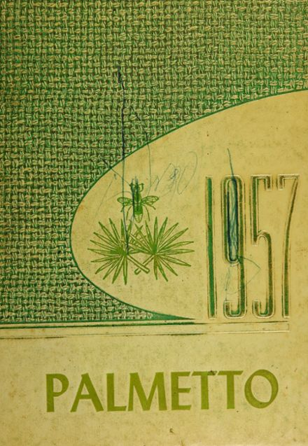 1957 Rayville High School Yearbook Cover