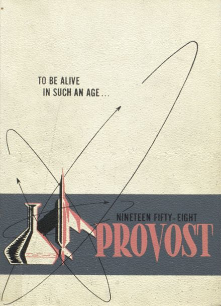 1958 Provo High School Yearbook Cover