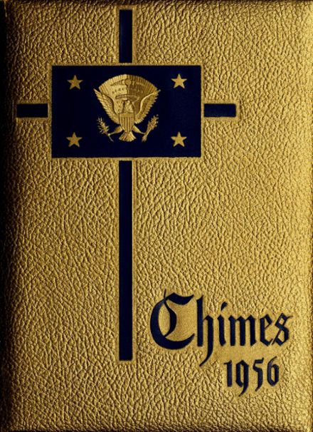 1956 Great Falls Central Catholic High School Yearbook Cover
