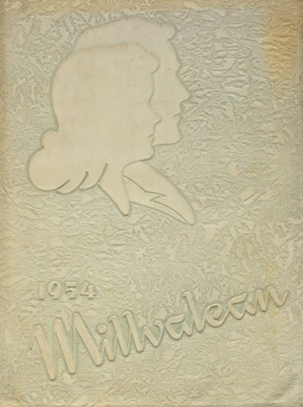 1954 Millvale High School Yearbook Cover