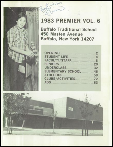 1983 Buffalo Traditional High School Yearbook Page 5