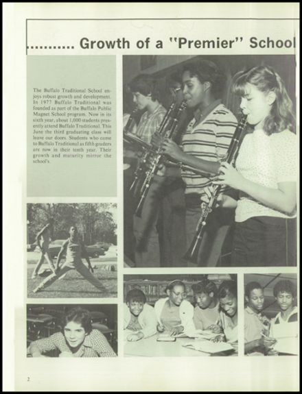 1983 Buffalo Traditional High School Yearbook Page 6
