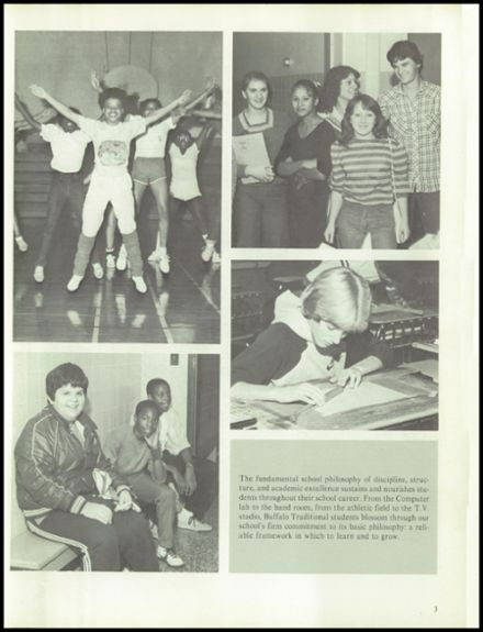 1983 Buffalo Traditional High School Yearbook Page 7