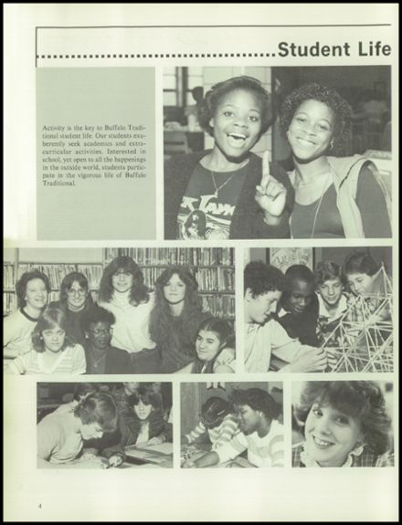 1983 Buffalo Traditional High School Yearbook Page 8