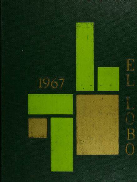 1967 San Ramon Valley High School Yearbook Cover