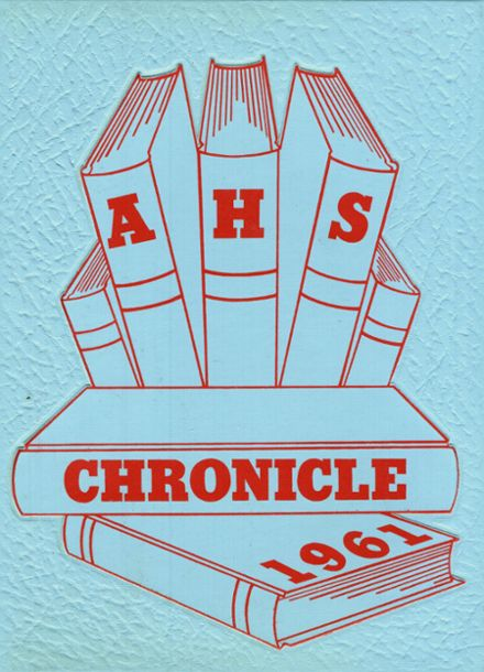 1961 Alliance High School Yearbook Cover