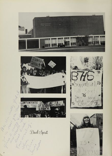 1976 Brockport High School Yearbook Page 6
