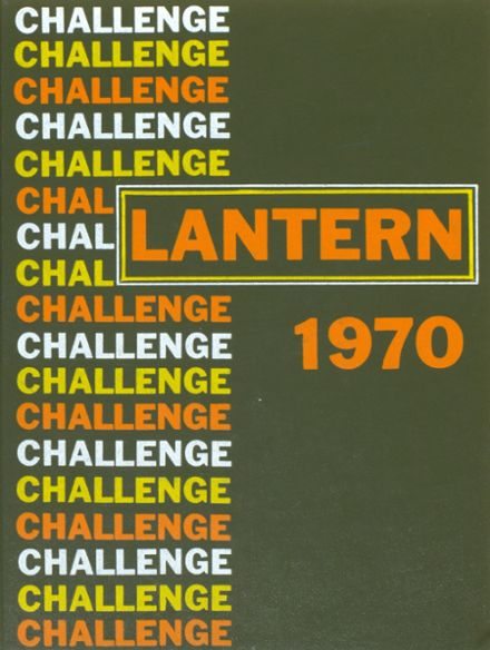 1970 Lutheran High School Yearbook Cover