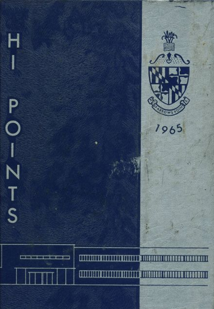 1965 Sparrows Point High School Yearbook Cover