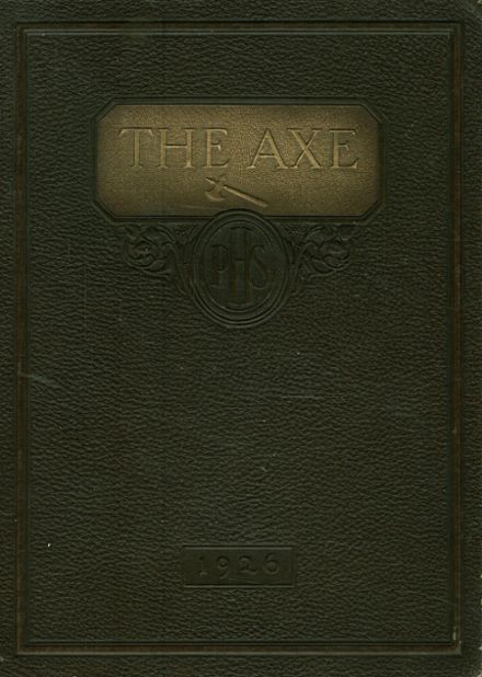 1926 Payette High School Yearbook Cover