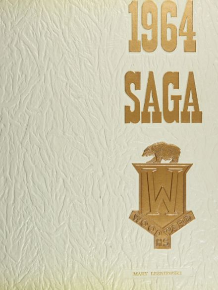 1964 Woodward High School Yearbook Cover