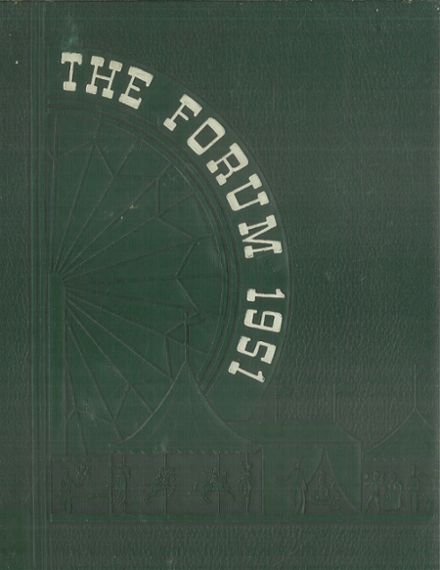 1951 Senn High School Yearbook Cover