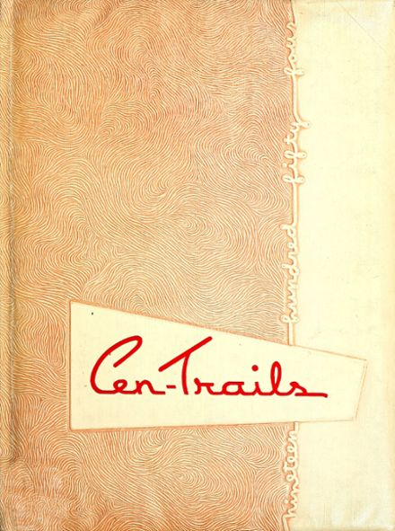 1954 Adams Central High School Yearbook Cover