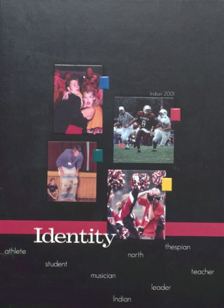 2001 Shawnee Mission North High School Yearbook Cover