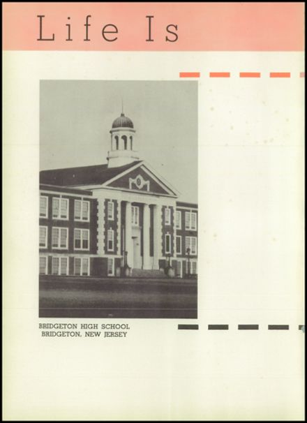 1956 Bridgeton High School Yearbook Page 6