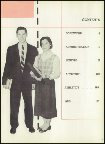 1956 Bridgeton High School Yearbook Page 9