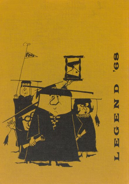 1968 Ft. Defiance High School Yearbook Cover