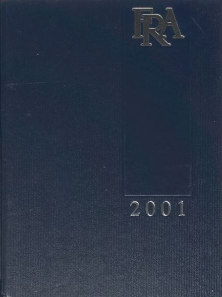 2001 Franklin Road Academy Yearbook Cover