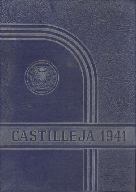 1941 Austin High School Yearbook Cover