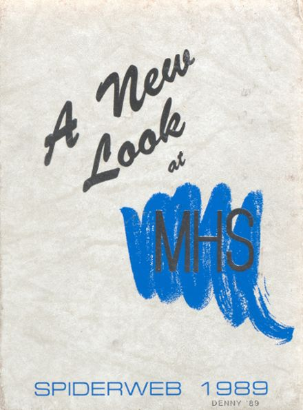 1989 Macomb High School Yearbook Cover
