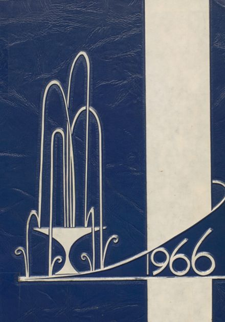 1966 Weatherford High School Yearbook Cover