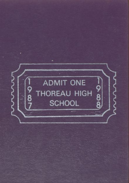 1987 Thoreau High School Yearbook Cover