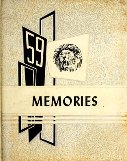 1959 Liberty Center High School Yearbook Cover