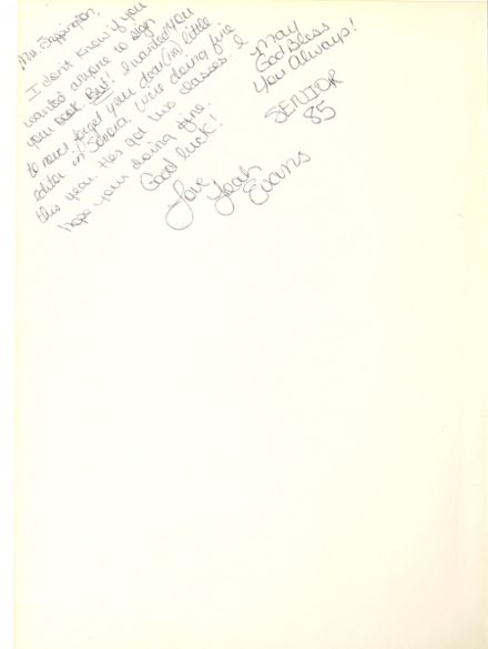 1984 Sonora High School Yearbook Page 4