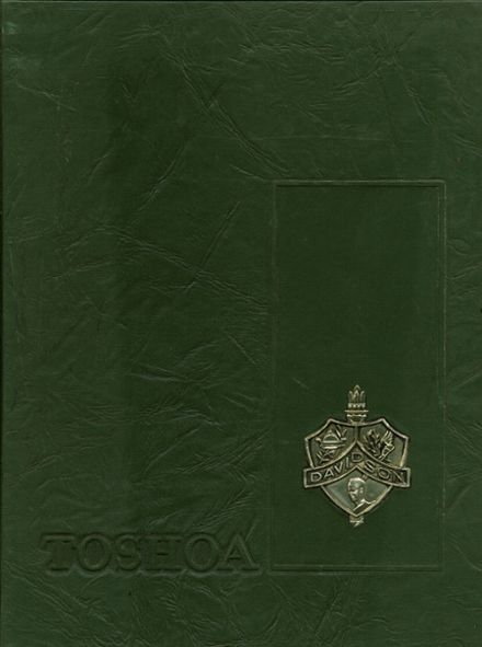 1968 Davidson High School Yearbook Cover