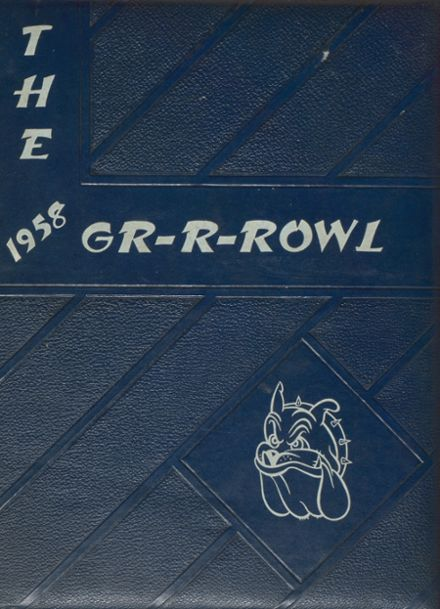 1958 Fulton High School Yearbook Cover