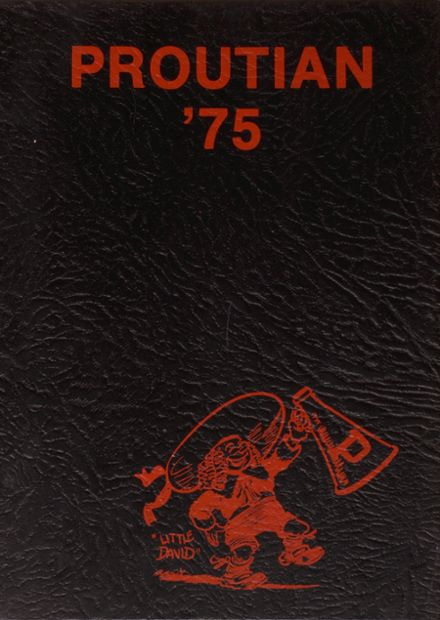 1975 Prouty Regional High School Yearbook Cover